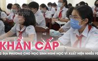 Hai tỉnh Hà Giang, Đồng Nai buộc phải cho học sinh nghỉ học do phát hiện hàng chục ca F0