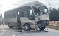 Nữ sinh lớp 8 tử vong trong vụ tai nạn liên quan ôtô 29 chỗ