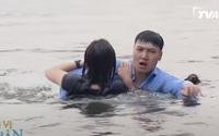 Hương vị tình thân tập 16: Long có tình ý với Nam khi nhảy xuống hồ cứu cô