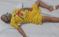 Khẩn cầu của người mẹ có con trai 5 tuổi mắc bệnh u não không tiền chữa trị