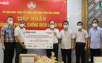 Các doanh nghiệp tích cực ủng hộ Bắc Giang, Bắc Ninh chống dịch