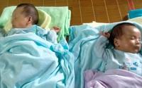 Thai phụ có chồng đột ngột qua đời vì tai nạn giao thông đã sinh đôi hai bé khỏe mạnh