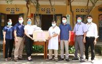 Chi cục Dân số - KHHGĐ tỉnh Hà Nam quyên góp ủng hộ công tác phòng chống dịch COVID - 19