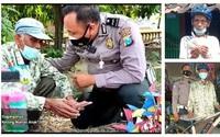 """Bị cảnh sát phát hiện bán hàng rong """"chui"""", cụ ông vẫn cúi đầu cảm ơn, câu chuyện lạ đời này thực sự là gì?"""
