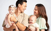 Cặp song sinh Lisa và Leon bị sinh non, Hồ Ngọc Hà khóc ròng thương con