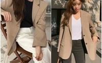 Chỉ một chi tiết rất nhỏ nhưng đủ để bạn chọn đúng kiểu blazer chuẩn đẹp, tôn dáng nhất