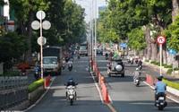 TPHCM sau gia hạn giãn cách: Chốt kiểm soát đông đúc, giao thông nhộn nhịp