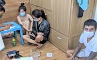 2 hot girl cùng bạn trai dự tiệc ma túy trong phòng trọ