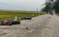Giây phút kinh hoàng khi nhóm thanh niên đi xe máy lao vào nhau gây tai nạn khiến 5 người chết qua lời kể nhân chứng