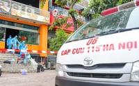 3 người cùng nhà ở Long Biên mắc COVID-19, Thủ đô thêm 5 ca mới