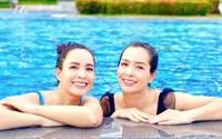 """90 ngày """"bất đắc dĩ"""" trên đảo của cặp sinh đôi Thuý Hằng - Thuý Hạnh"""