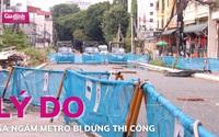 Lý do ga ngầm metro Hà Nội tạm dừng hoạt động