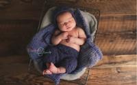 Ngắm những khoảnh khắc vô cùng bình yên khi bé sơ sinh ngủ
