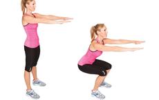 Các động tác giảm cân đơn giản cho ngày Tết lười biếng