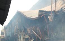 Phường khuyên người dân không dùng thực phẩm nuôi, trồng bán kính 1km quanh vụ cháy nhà máy phích nước Rạng Đông trong 21 ngày