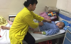 Quằn quại trong cơn đau vì bệnh, cậu bé ung thư mong được về ăn Tết