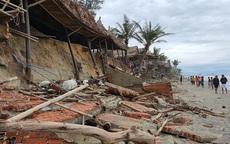Các tỉnh miền Trung tiếp tục gánh nhiều thiệt hại do bão số 13