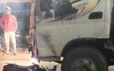 Đôi nam nữ ở TP.HCM tử vong khi va chạm với xe tải