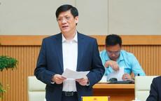 Bộ trưởng Bộ Y tế: Người đi từ Cẩm Giàng, Hải Dương từ 15/1 phải khai báo, xét nghiệm
