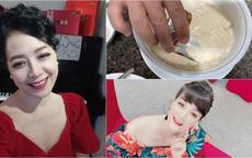 Nghệ sĩ Chiều Xuân làm món tuyệt phẩm ngày se lạnh, Vân Dung liền vào xin 1 bát