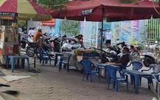 Hàng quán bủa vây trường học ở Cát Bi, Hải Phòng