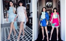"""Hai nàng hậu 10X Lương Thùy Linh và Đỗ Hà nhan sắc khác lạ, """"đọ"""" chân dài cực phẩm"""