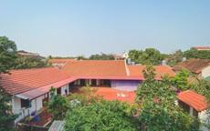 Ngôi nhà 90m² đẹp bình yên, xanh mát bóng cây giữa làng cổ Đường Lâm, Hà Nội
