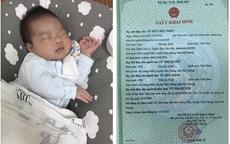 """4 năm mới có thai, 1 thai bị lưu vẫn """"vượt cạn"""" thành công, bố mẹ xúc động lấy tên Bệnh viện Đức Phúc đặt cho con"""