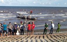 Tìm thấy thi thể ngư dân mất tích khi đánh bắt cá trên biển bằng cà kheo