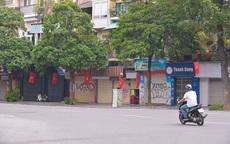 Đường phố Hà Nội vắng vẻ nhưng vẫn rực rỡ cờ đỏ sao vàng trong dịp Quốc khánh đặc biệt