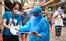 Trưa 12/9: 3 người ở Hà Nội có kết quả dương tính, Thủ đô thêm 17 ca COVID-19