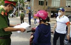 Ngày 2/9, Hà Nội xử phạt hơn 1.500 trường hợp vi phạm phòng, chống dịch