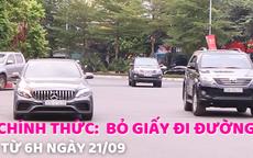 Chính thức: Người dân Hà Nội không cần giấy đi đường từ 6h ngày 21/09