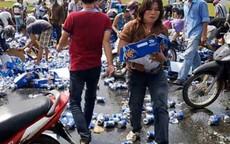 """Kêu gọi ủng hộ tài xế bị """"cướp bia"""" 400 triệu đồng"""
