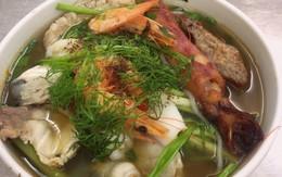 Bún hải sản Hàng Lược đã trở lại với thực khách Hà thành