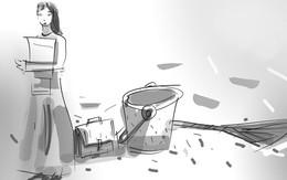 Chuyện cô học trò xin được dọn dẹp khu vệ sinh nhà trường