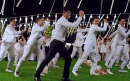 Công Vinh nhảy cực sung trong đám cưới