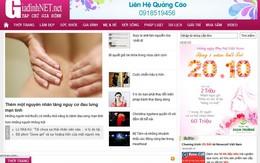 """Cảnh báo website """"nhái"""" Giadinh.net.vn"""