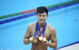 Fan nữ thổn thức vì hot boy bơi lội 9X