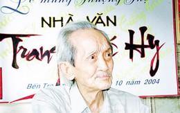 Nhà văn Trang Thế Hy: Mài chữ cả khi trí nhớ rụng dần