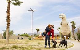 """Bộ ảnh """"siêu"""" lãng mạn tái hiện nụ hôn trên khắp thế giới"""