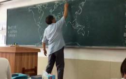 Kinh ngạc, thầy giáo vẽ bản đồ lịch sử chính xác không cần sách