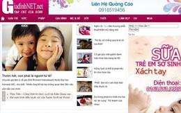 """Tiếp vụ """"website """"nhái"""" trang thông tin điện tử của Báo Gia đình & Xã hội"""": Website """"nhái"""" đã ngừng hoạt động"""