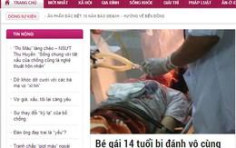 Giadinh.net.vn xin lỗi độc giả