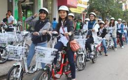 Thi ATGT cùng xe đạp, xe máy điện