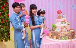 Tiệc thôi nôi linh đình của con gái út nhà Lý Hải - Minh Hà