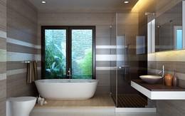 """Hóa giải những """"điểm nghịch phong thủy"""" của phòng tắm"""