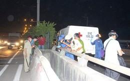 Phát hiện xác nam thanh niên treo lơ lửng giữa cầu