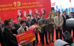 Vietjet tặng một năm bay miễn phí cho khách hàng thứ 10 triệu