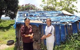 Mẹ con thủ khoa xin cơm ở chùa
